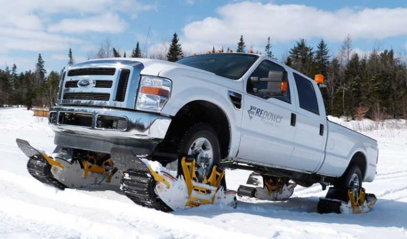 GearBait: Turn Your Car or Truck Into a Snowcat