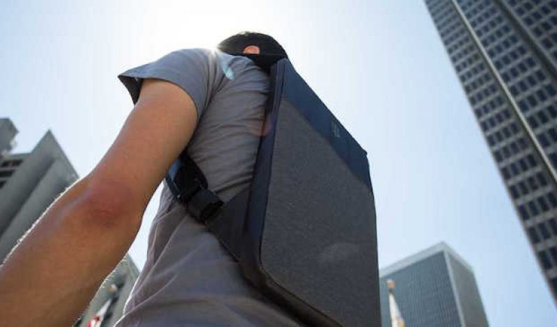 Keep Your Laptop Secure With This Ultra-Slim Backpack