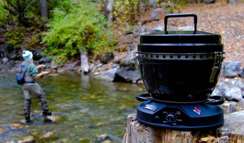 The Velocity Grill Makes Backcountry Barbecues a Breeze