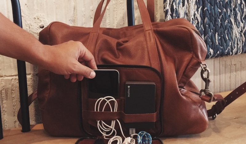 This Weekend Travel Bag Has Everything You Need – Including WiFi