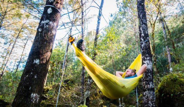 New see-through ultralight hammocks pack crazy small